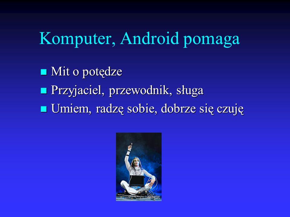 Komputer, Android pomaga