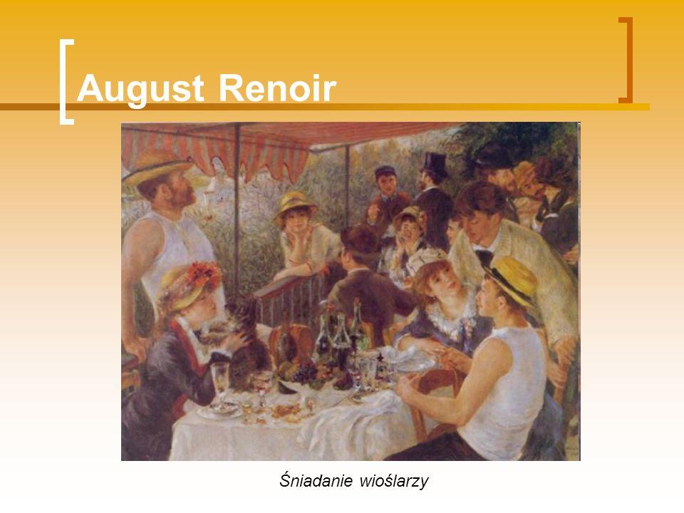August Renoir Śniadanie wioślarzy
