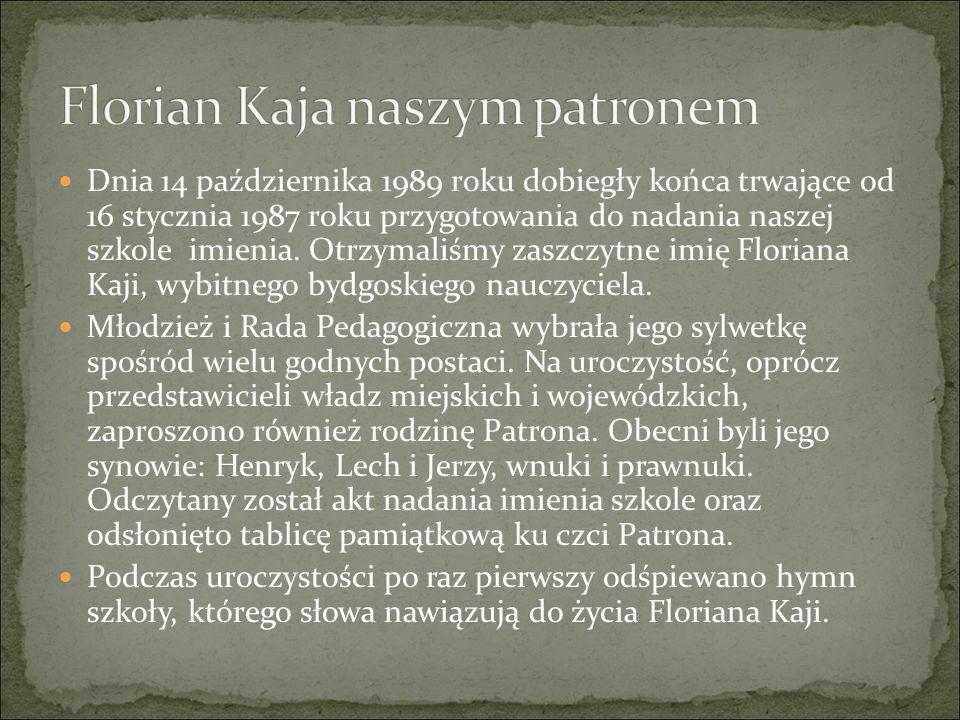 Florian Kaja naszym patronem