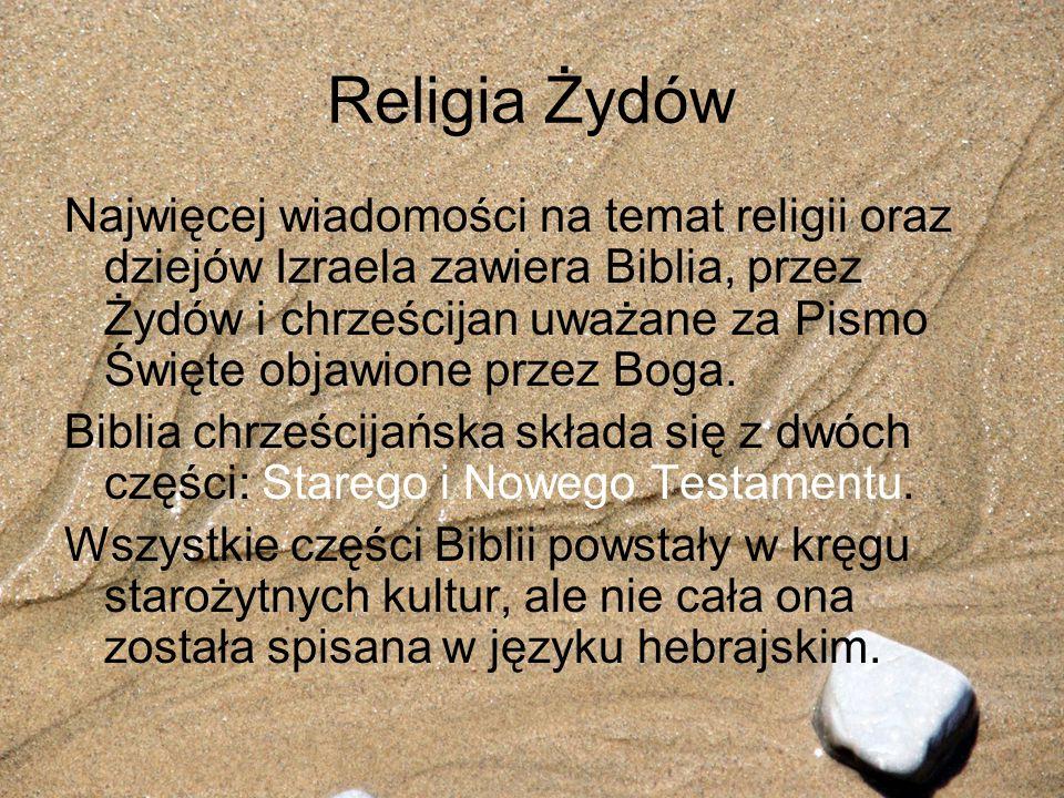Religia Żydów