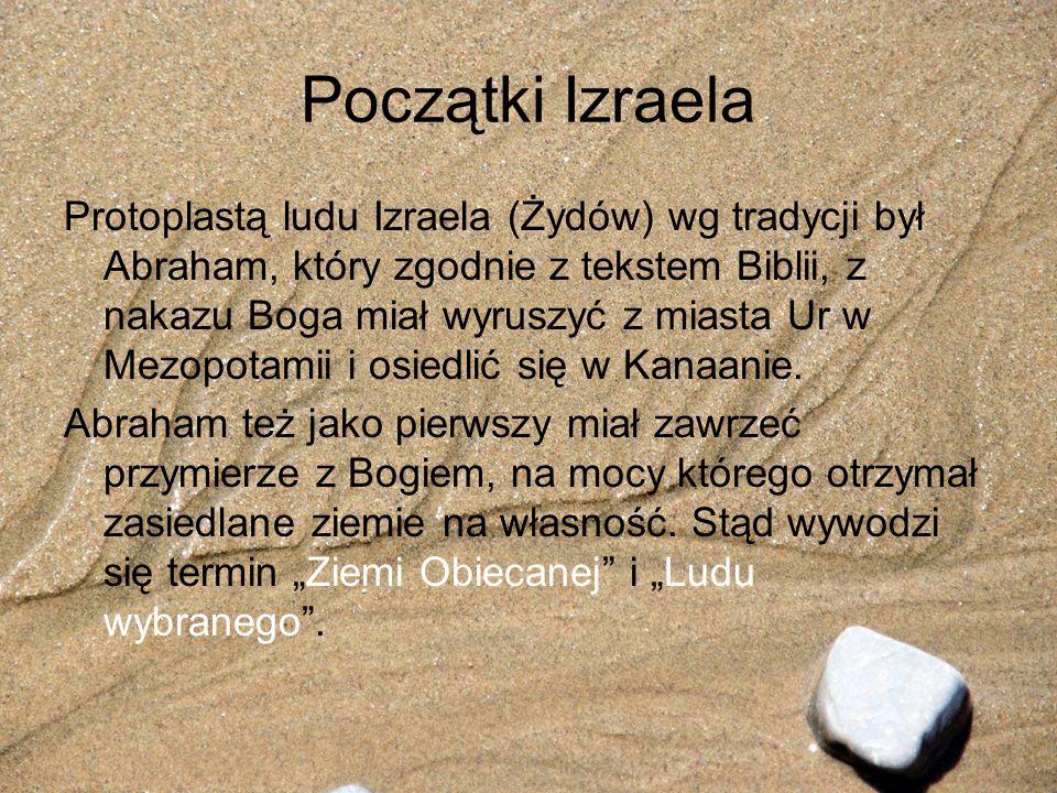 Początki Izraela