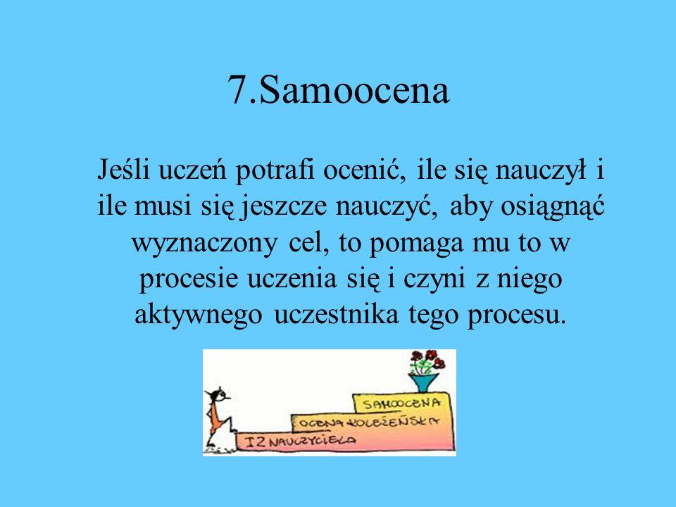 7.Samoocena
