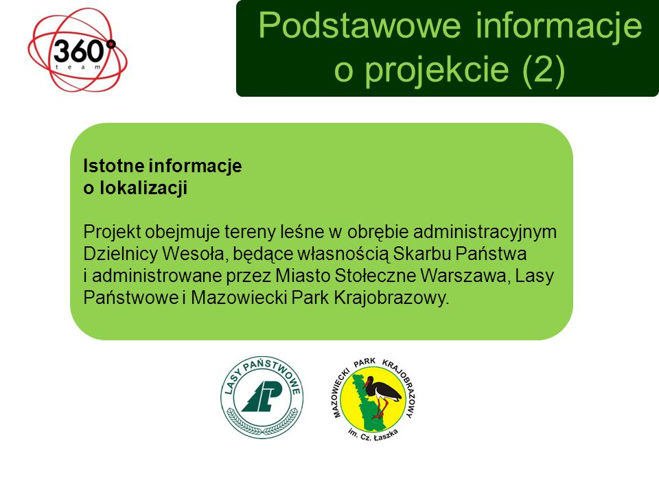 Podstawowe informacje o projekcie (2)
