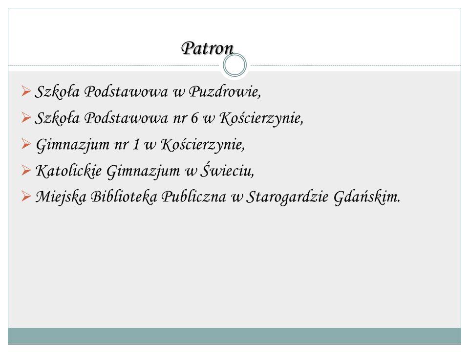Patron Szkoła Podstawowa w Puzdrowie,