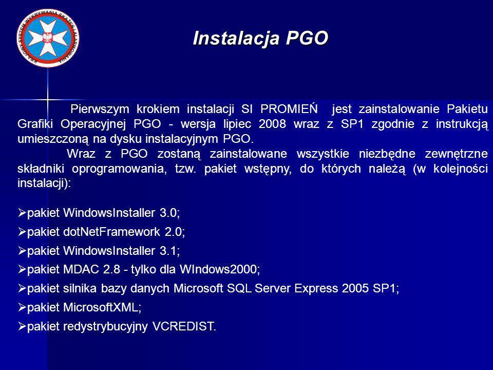 Instalacja PGO