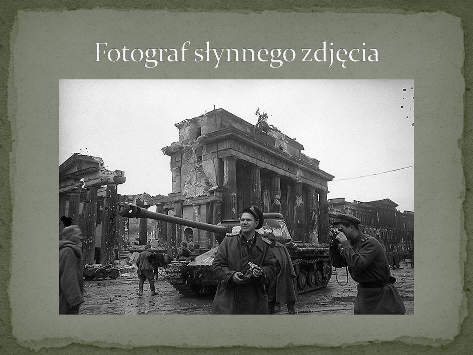 Fotograf słynnego zdjęcia