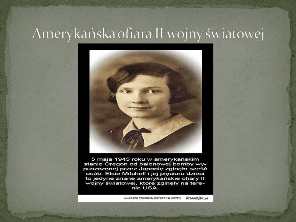 Amerykańska ofiara II wojny światowej