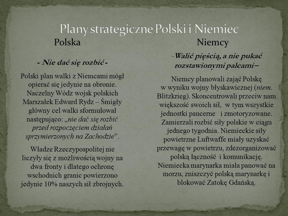 Plany strategiczne Polski i Niemiec