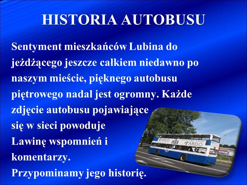 HISTORIA AUTOBUSU