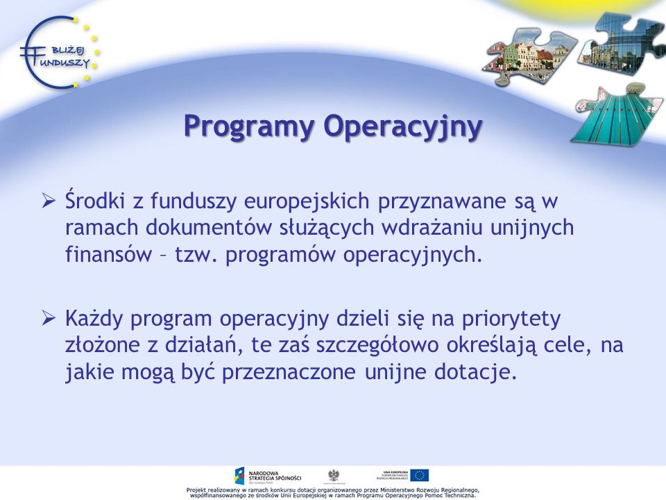 Programy Operacyjny
