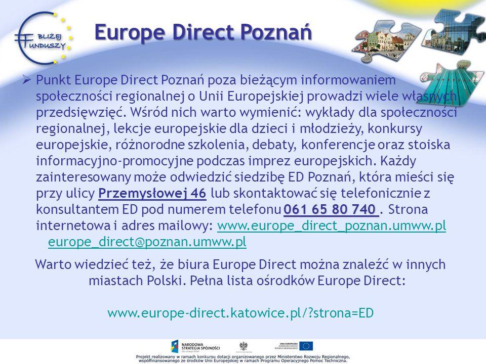 Europe Direct Poznań