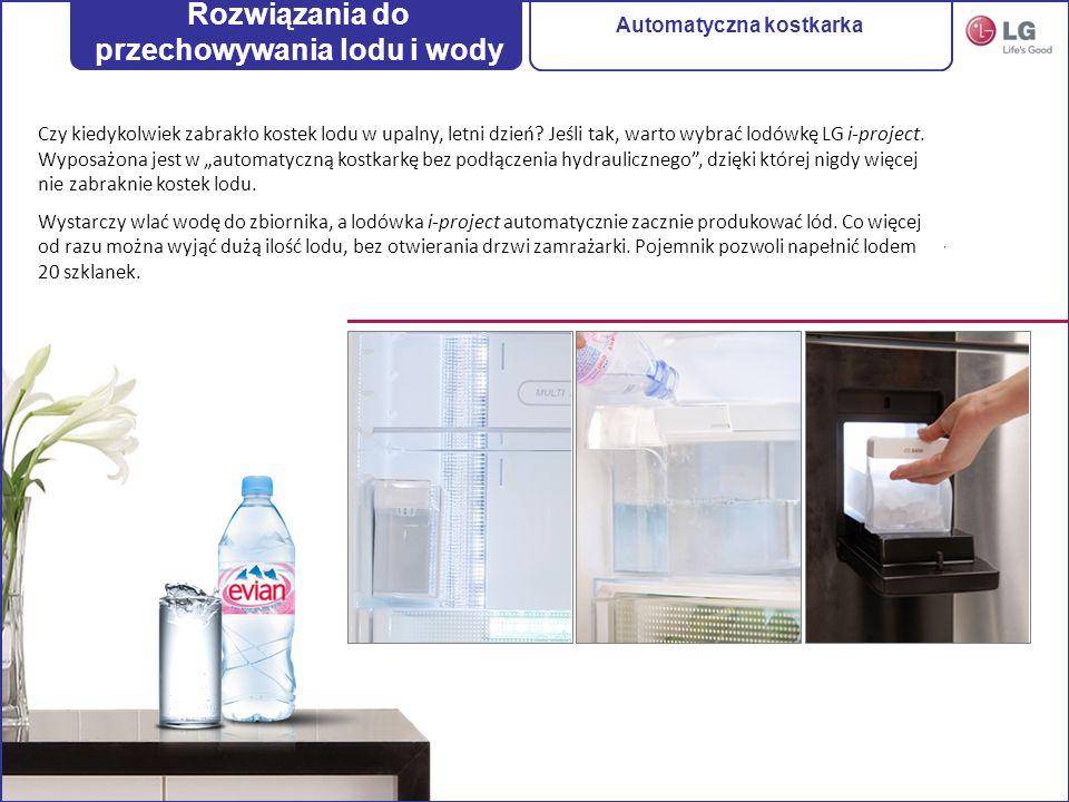 Rozwiązania do przechowywania lodu i wody Automatyczna kostkarka