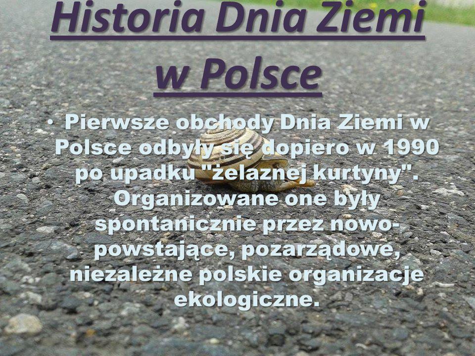Historia Dnia Ziemi w Polsce