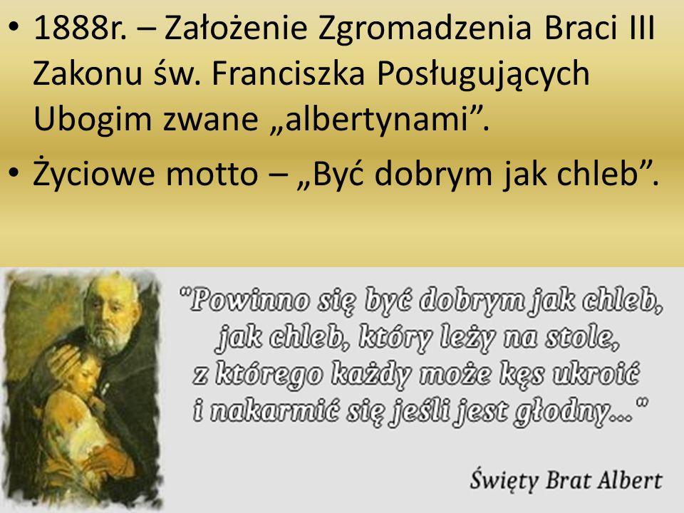 1888r. – Założenie Zgromadzenia Braci III Zakonu św