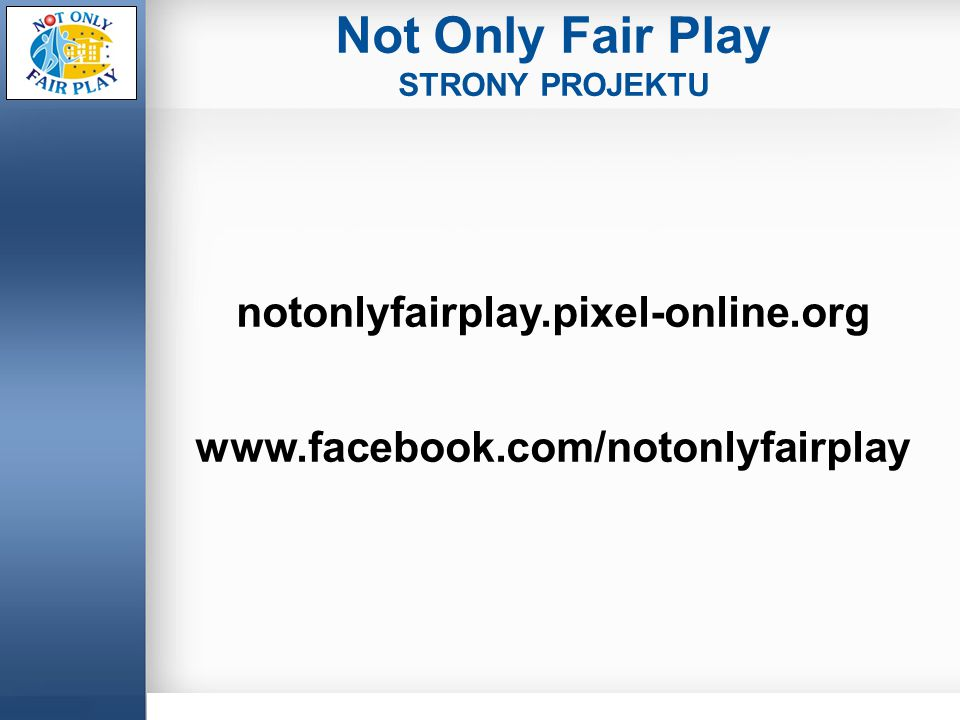 Not Only Fair Play notonlyfairplay.pixel-online.org