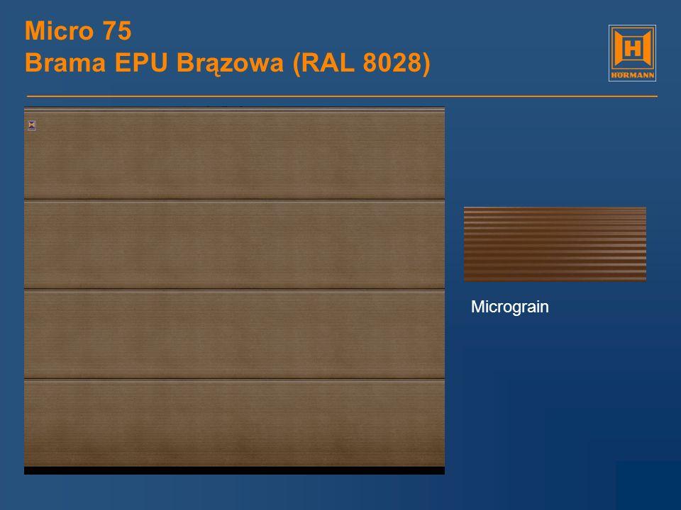 Micro 75 Brama EPU Brązowa (RAL 8028)