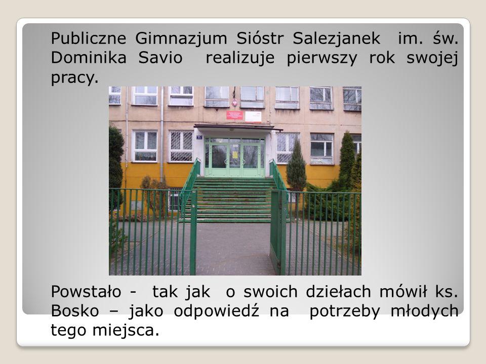 Publiczne Gimnazjum Sióstr Salezjanek im. św