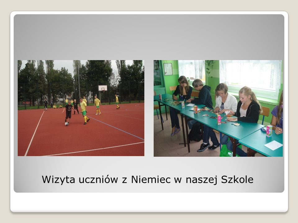 Wizyta uczniów z Niemiec w naszej Szkole