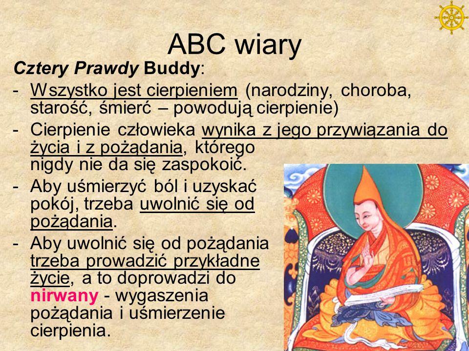 ABC wiary Cztery Prawdy Buddy: