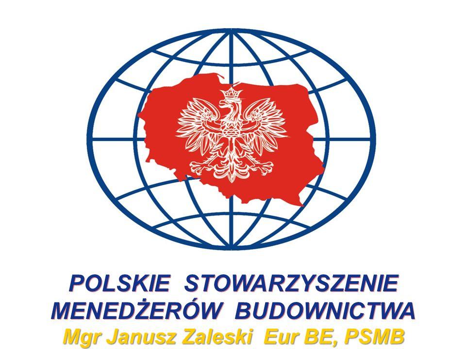 POLSKIE STOWARZYSZENIE MENEDŻERÓW BUDOWNICTWA
