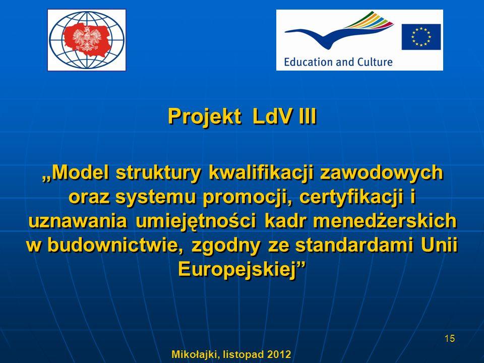 Projekt LdV III