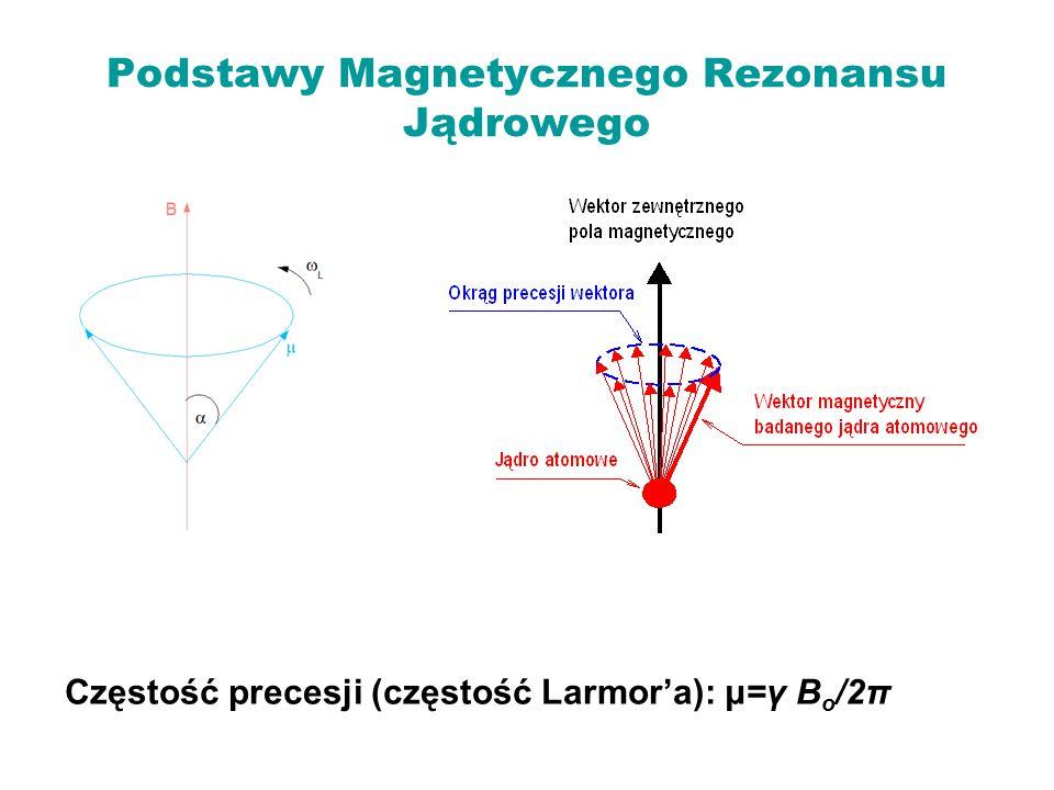 Podstawy Magnetycznego Rezonansu Jądrowego