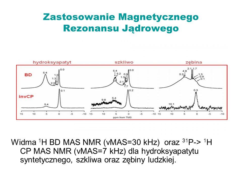 Zastosowanie Magnetycznego Rezonansu Jądrowego