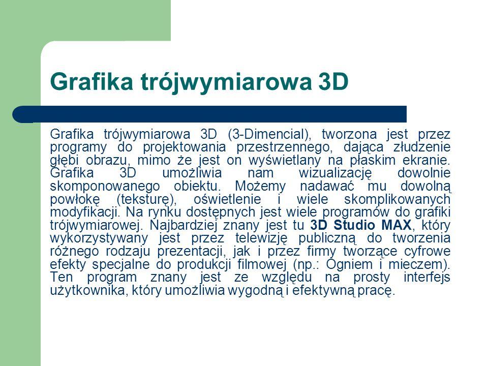 Grafika trójwymiarowa 3D
