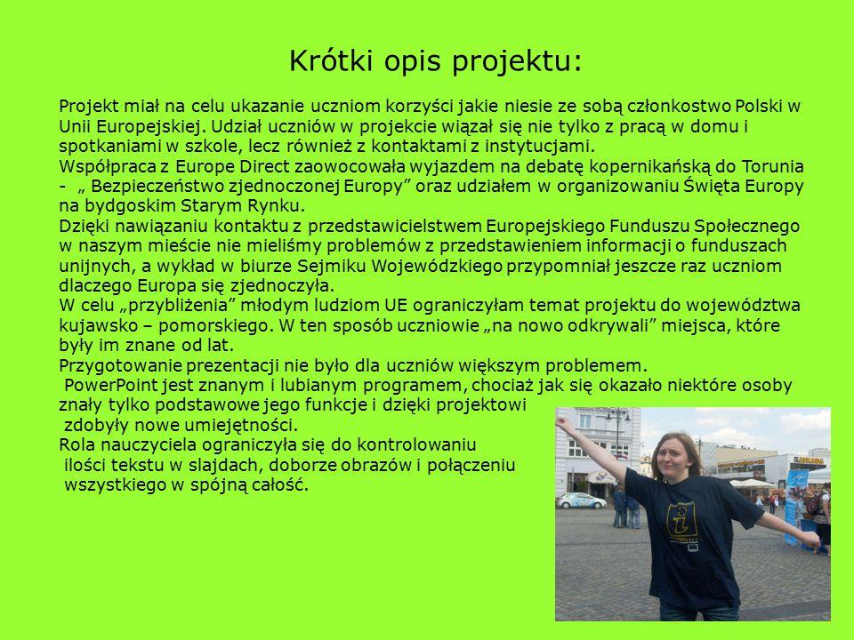 Krótki opis projektu: