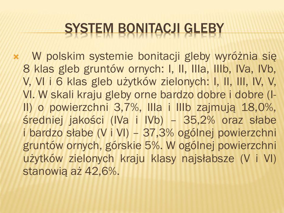 System bonitacji gleby