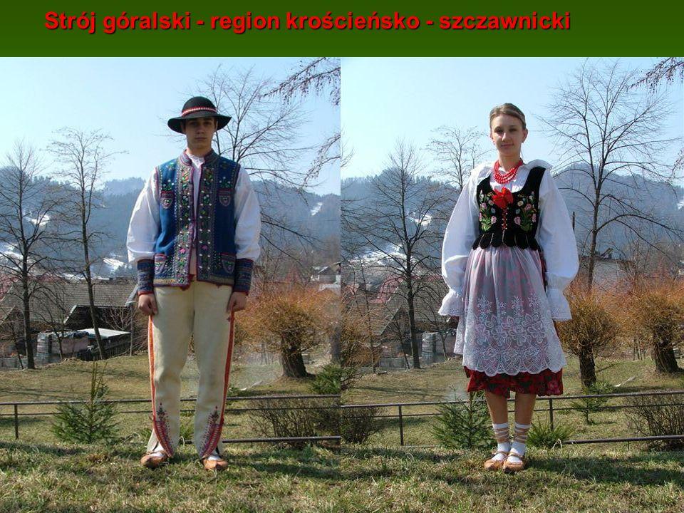Strój góralski - region krościeńsko - szczawnicki