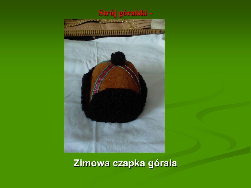 Strój góralski - Zimowa czapka górala Zimowa czapka górala