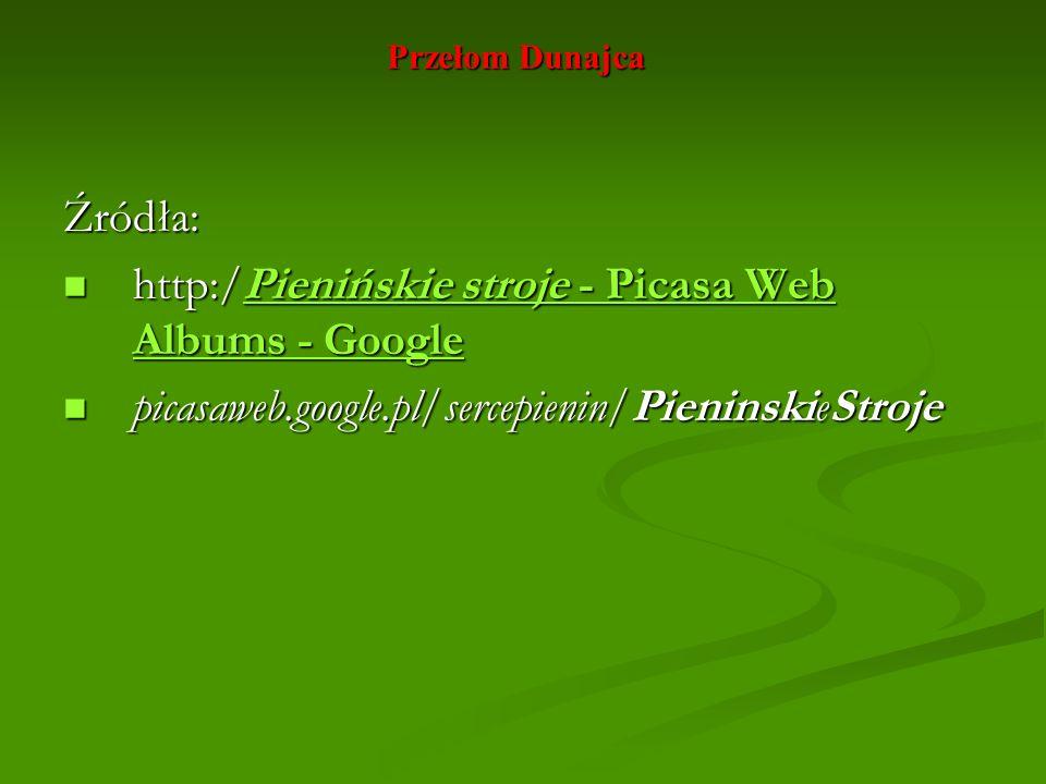 http:/Pienińskie stroje - Picasa Web Albums - Google