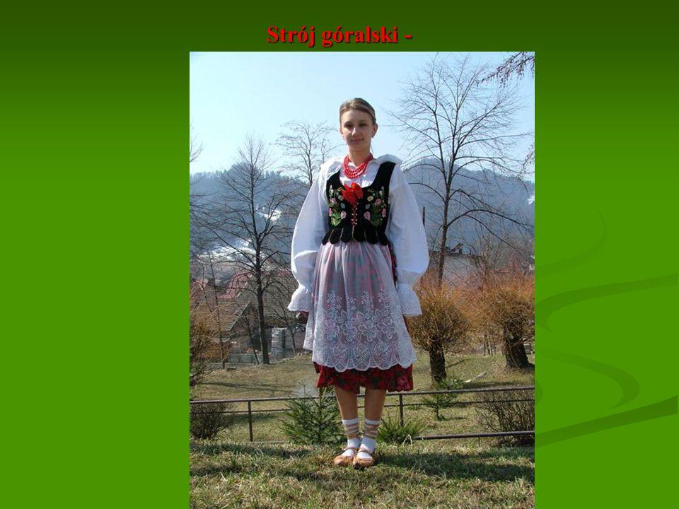 Strój góralski - Ubiór kobiecy
