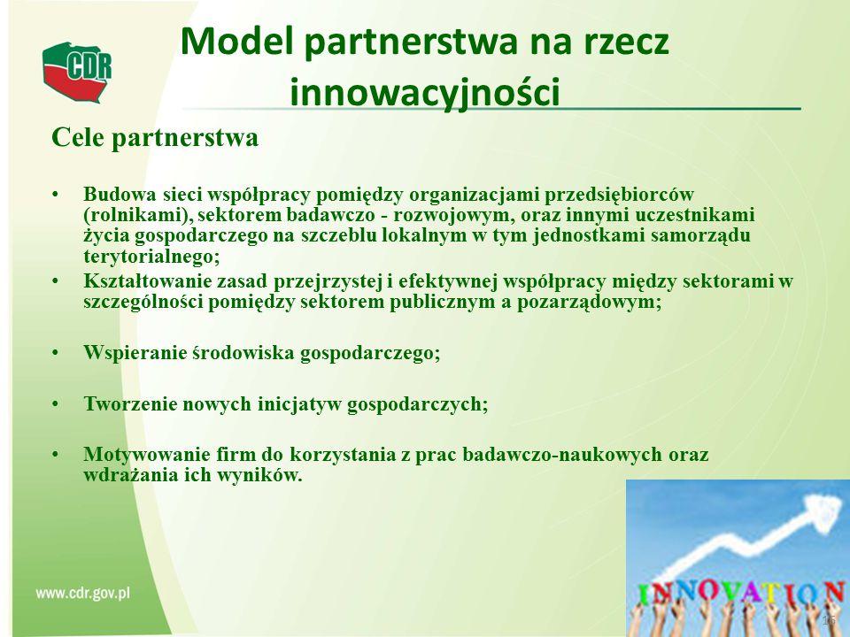 Model partnerstwa na rzecz innowacyjności