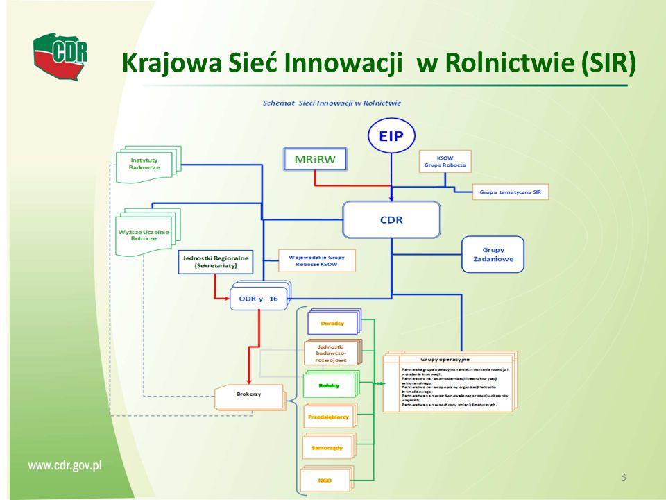 Krajowa Sieć Innowacji w Rolnictwie (SIR)