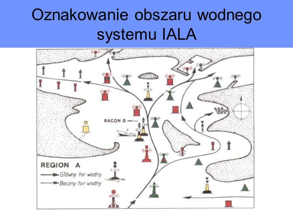 Oznakowanie obszaru wodnego systemu IALA