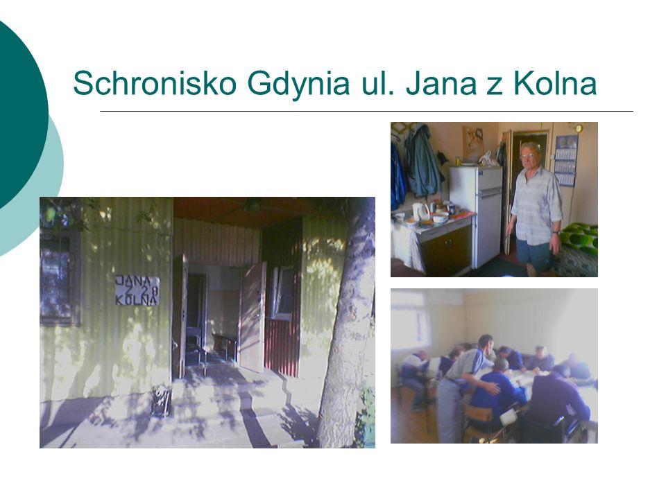 Schronisko Gdynia ul. Jana z Kolna