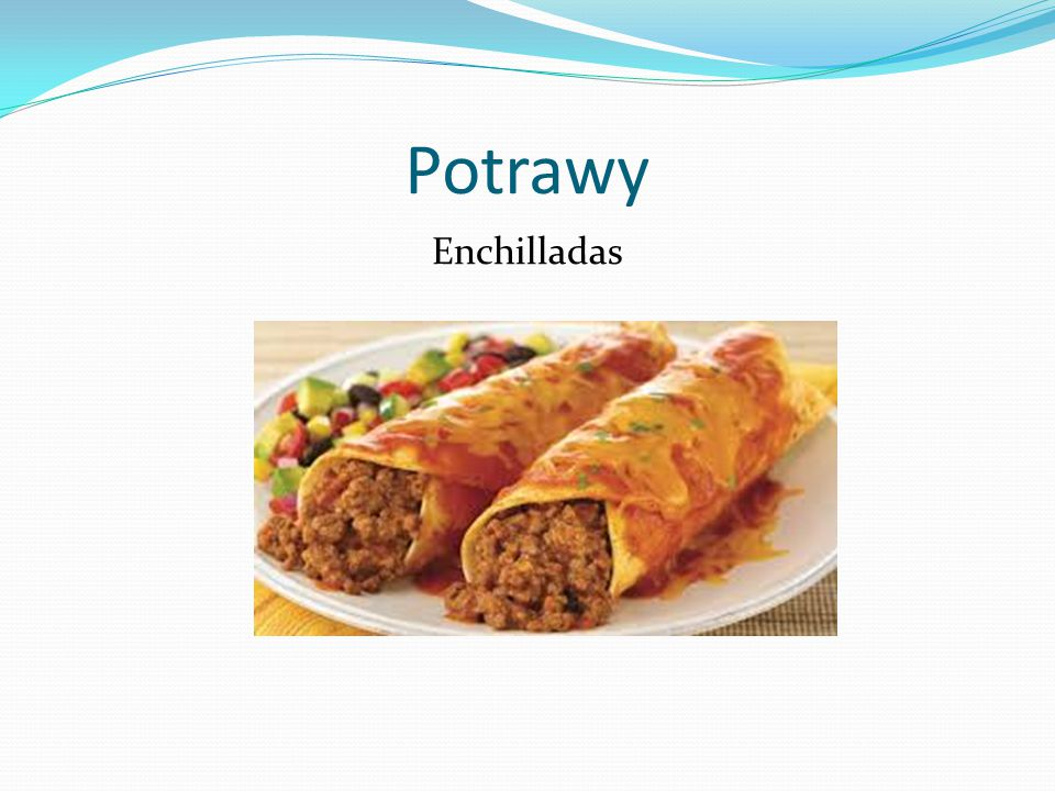 Potrawy Enchilladas