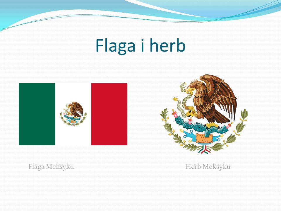Flaga i herb Flaga Meksyku Herb Meksyku.