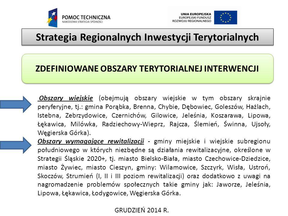 Strategia Regionalnych Inwestycji Terytorialnych