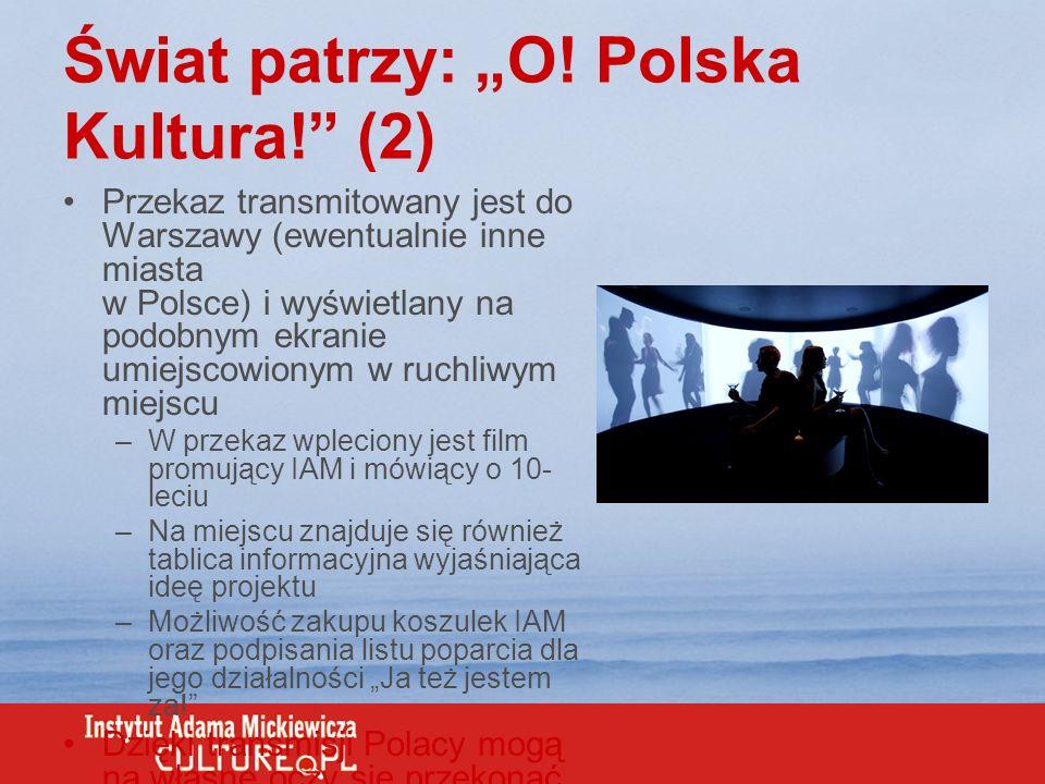 """Świat patrzy: """"O! Polska Kultura! (2)"""