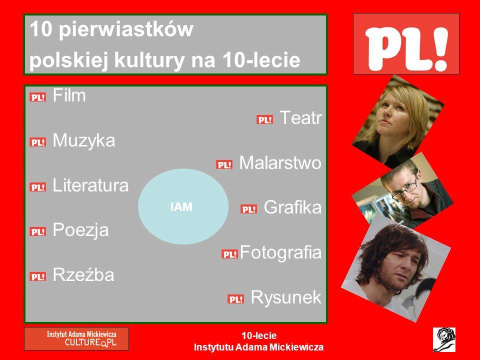 10 pierwiastków polskiej kultury na 10-lecie
