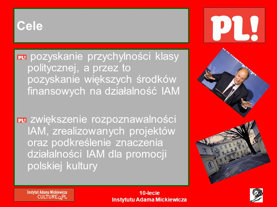 10-lecie Instytutu Adama Mickiewicza