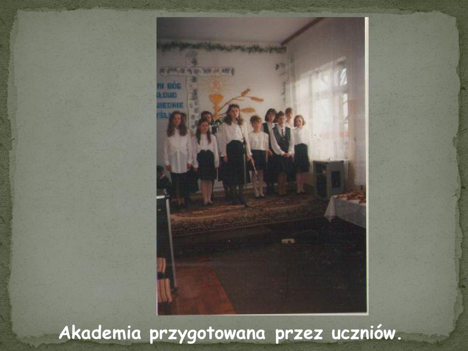 Akademia przygotowana przez uczniów.