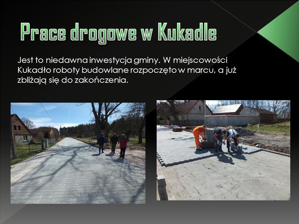 Prace drogowe w Kukadle