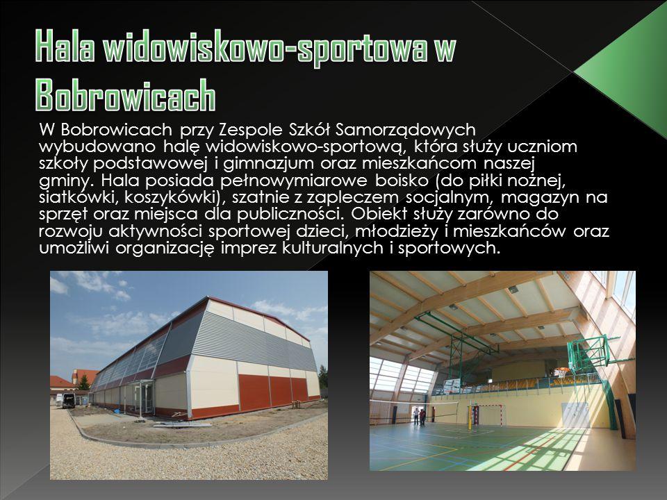 Hala widowiskowo-sportowa w Bobrowicach