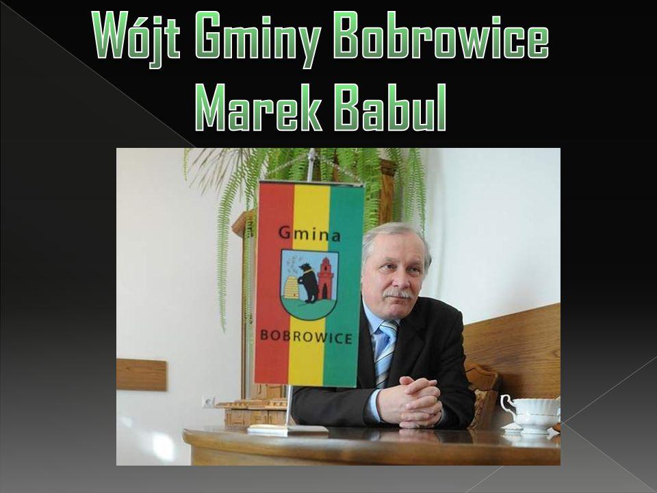 Wójt Gminy Bobrowice Marek Babul