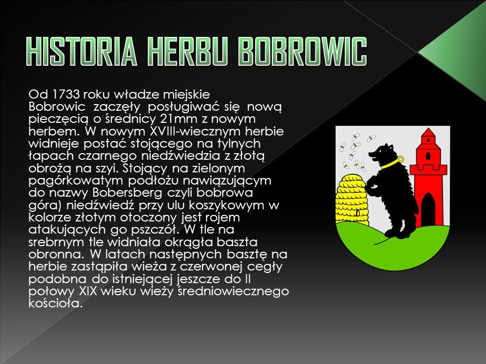 HISTORIA HERBU BOBROWIC