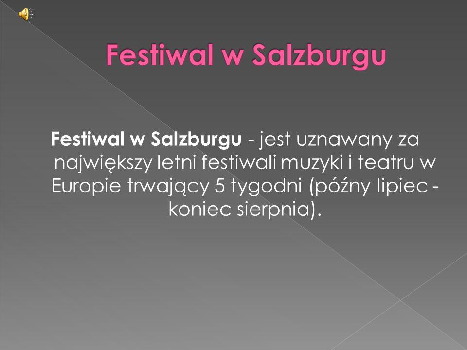 Festiwal w Salzburgu